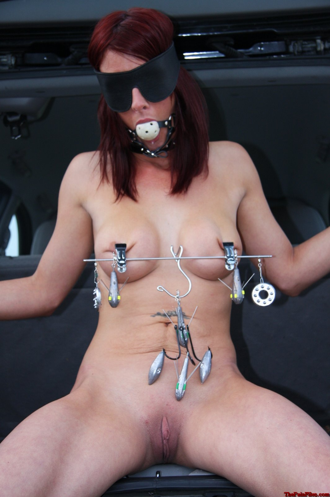 Black wife bdsm outdoor